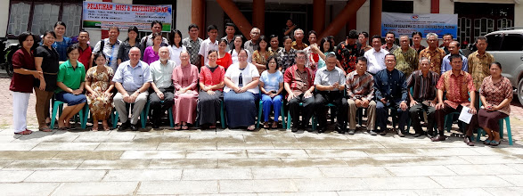 Photo: Our Full Pastoral Training Conference Group At Teluk Dalam, South Nias Island.