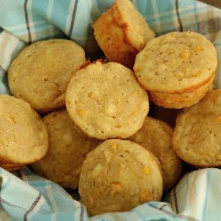 Cornbread Muffins with Creamed Corn.