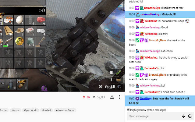 Riot_Grrrl - Twitch Chat Tools
