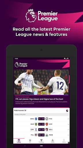 Premier League - Official App 2.2.6.1497 screenshots 7