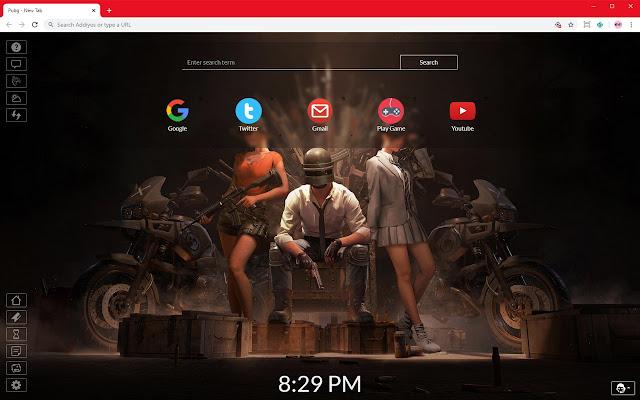 Pubg HD Full HD New Tab
