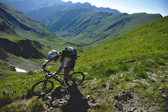 Photo: Single trail de Fagaras.