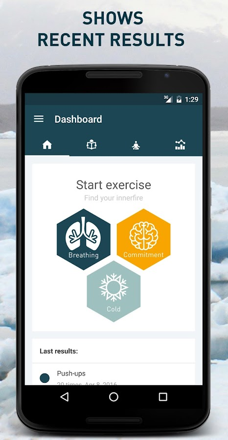 Wim Hof Method- screenshot