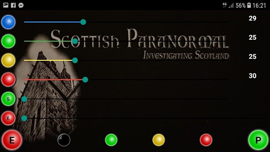 Scottish Paranormal Spirit Box App Screenshot