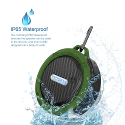 VicTsing® Wireless Bluetooth 3.0 Waterproof Outdoor / Shower Speaker, with 5W Speaker/Suction Cup/Mic/Hands-Free Speakerphone