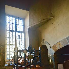 Tudor Kitchen by Victoria Eversole - Buildings & Architecture Public & Historical ( canons ashby, tudor architectural design, kitchens )