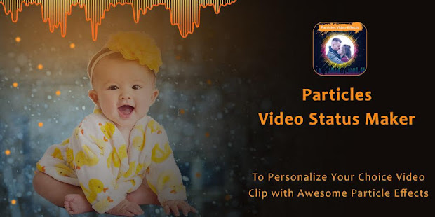 Download Particles Video Status Maker - Musical Wave Beats For PC Windows and Mac apk screenshot 1
