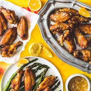 Chinese Lemon Chicken Wings.