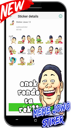 Meme Jawa Lucu Stiker For WAstickerApps screenshot 7
