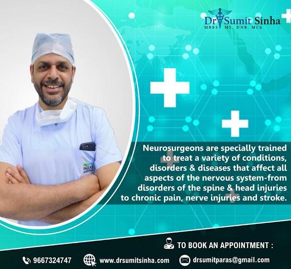Dr Sumit Sinha Best Neurosurgeon in Gurgaon, Delhi, India | Brain