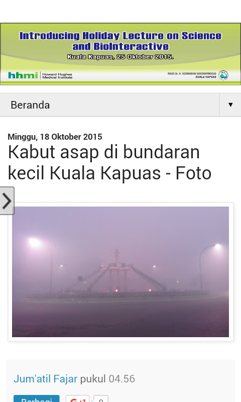Informasi Kapuas- screenshot