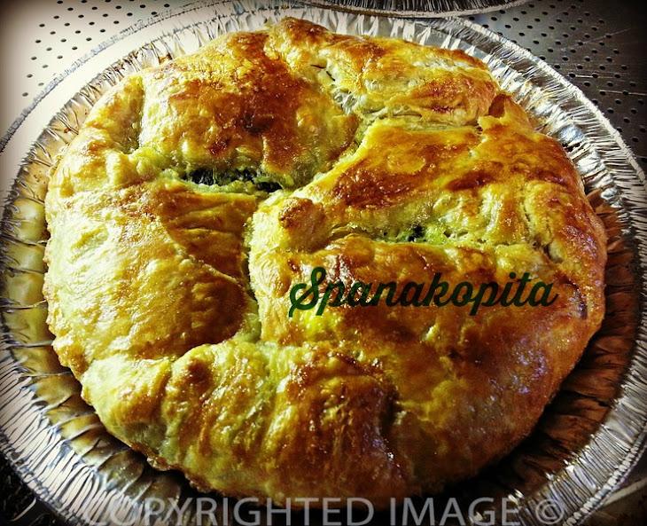 Spanakopita (Spinach Pie) Recipe