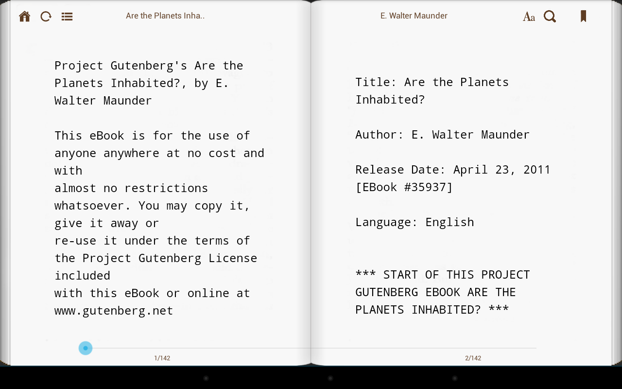 eBooks2go Reader- screenshot