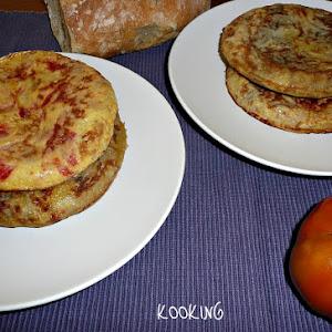 Roasted Vegetable Omelette