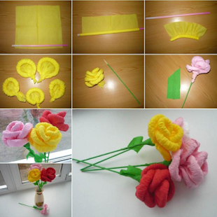 Diy paper flower android apps on google play diy paper flower screenshot thumbnail diy paper flower screenshot thumbnail mightylinksfo