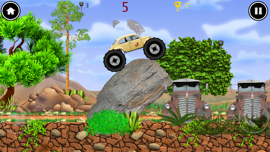 Monster Truck: el gusano Screenshot