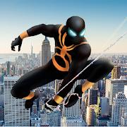 Spider Shadow Hero Fight - Strange Stick Man Rope
