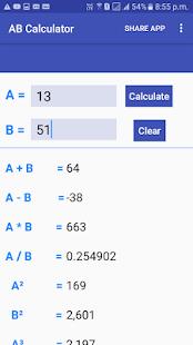 AB Calculator - náhled