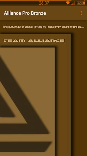 Alliance Pro Bronze Note 4