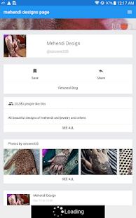 Mehendi designs page - náhled