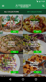 Food Monster: Vegan Recipes- screenshot thumbnail