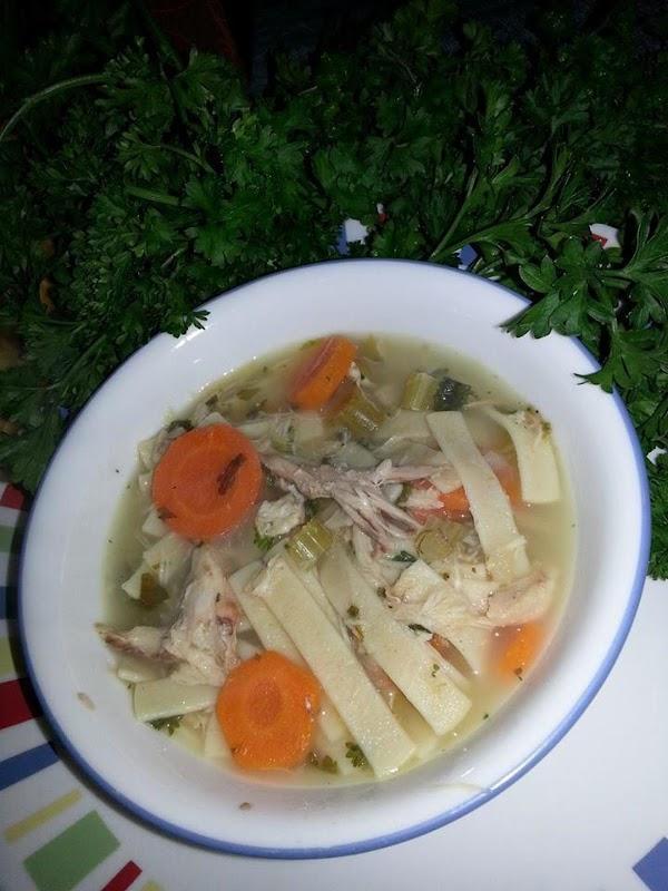 Left Over Turkey Soup/stew Recipe
