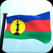 New Caledonia Flag 3D Free