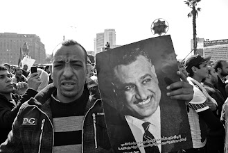 Photo: A Nasser fan.