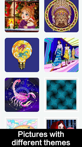 Draw Color by Number screenshot 5
