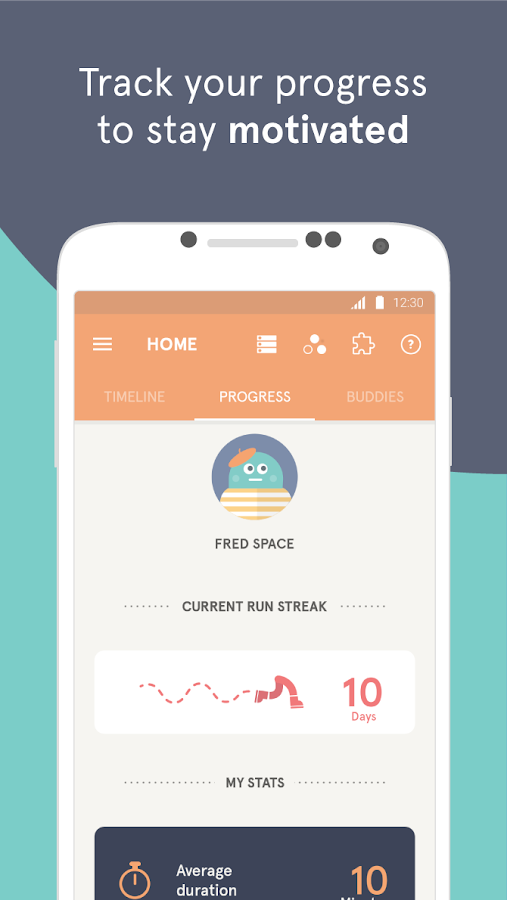 Headspace - meditation- screenshot