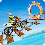 Motorcycle Stunt Trick: Motorcycle Stunt Games Icon