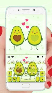 Avocado Love Keyboard Theme 1.0 Mod + Data for Android 1