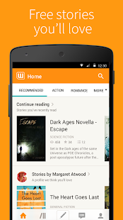 Free Books & Stories - Wattpad- screenshot thumbnail