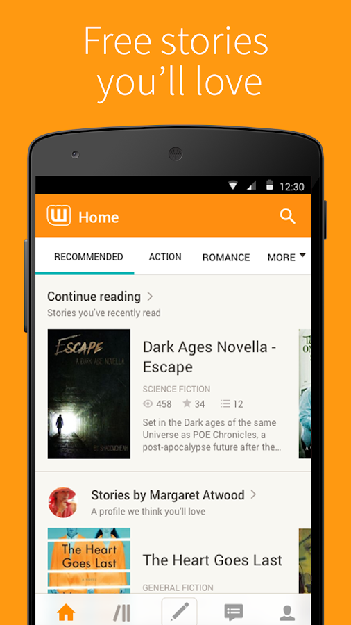 Free Books & Stories - Wattpad- screenshot