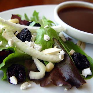 Cherry Fennel Salad with Cherry Balsamic Dressing