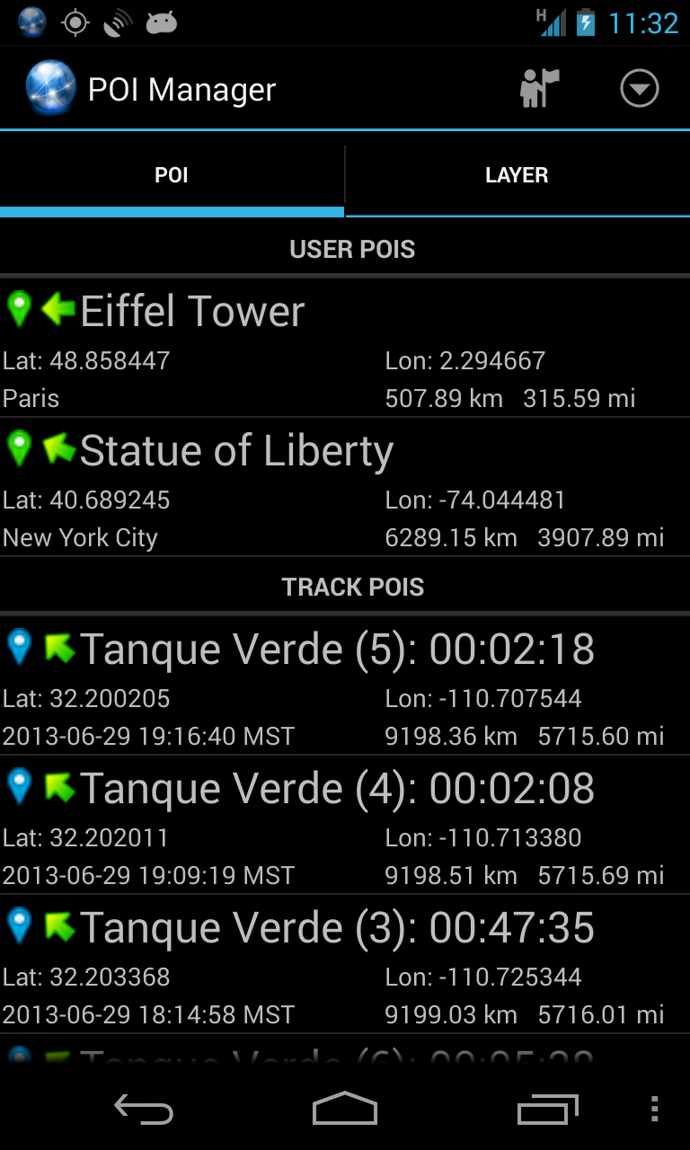 Ultra GPS Logger Screenshot 7