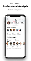 screenshot of iAssistant Followers Analysis for Instagram