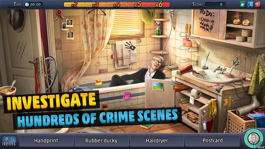 Criminal Case Android App Screenshot