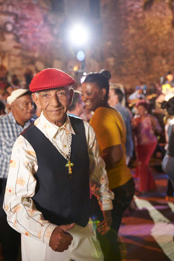 DR-Local-Man-Dancing.jpg - Get your Latin groove on: A man dances in the Dominican Republic.