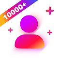 Get Real Followers For Instagram hashtag# icon