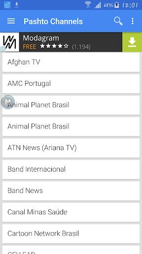 TV Pashto Sat Data