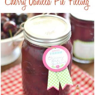 Cherry Vanilla Pie Filling