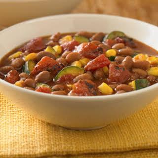Vegetarian Bean Stew.