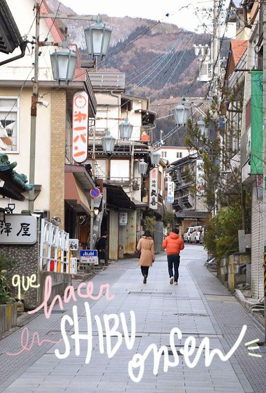 visitar shibu onsen