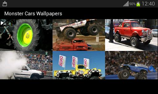 無料个人化Appのモンスター車の壁紙|記事Game
