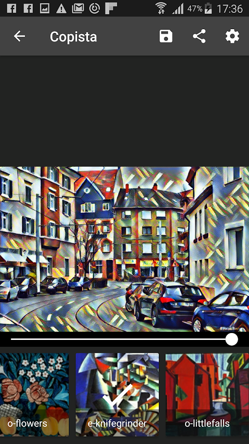 Copista - Cubism, expressionism AI photo filters- screenshot