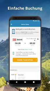 GoEuro - Bahn, Bus, Flug Screenshot