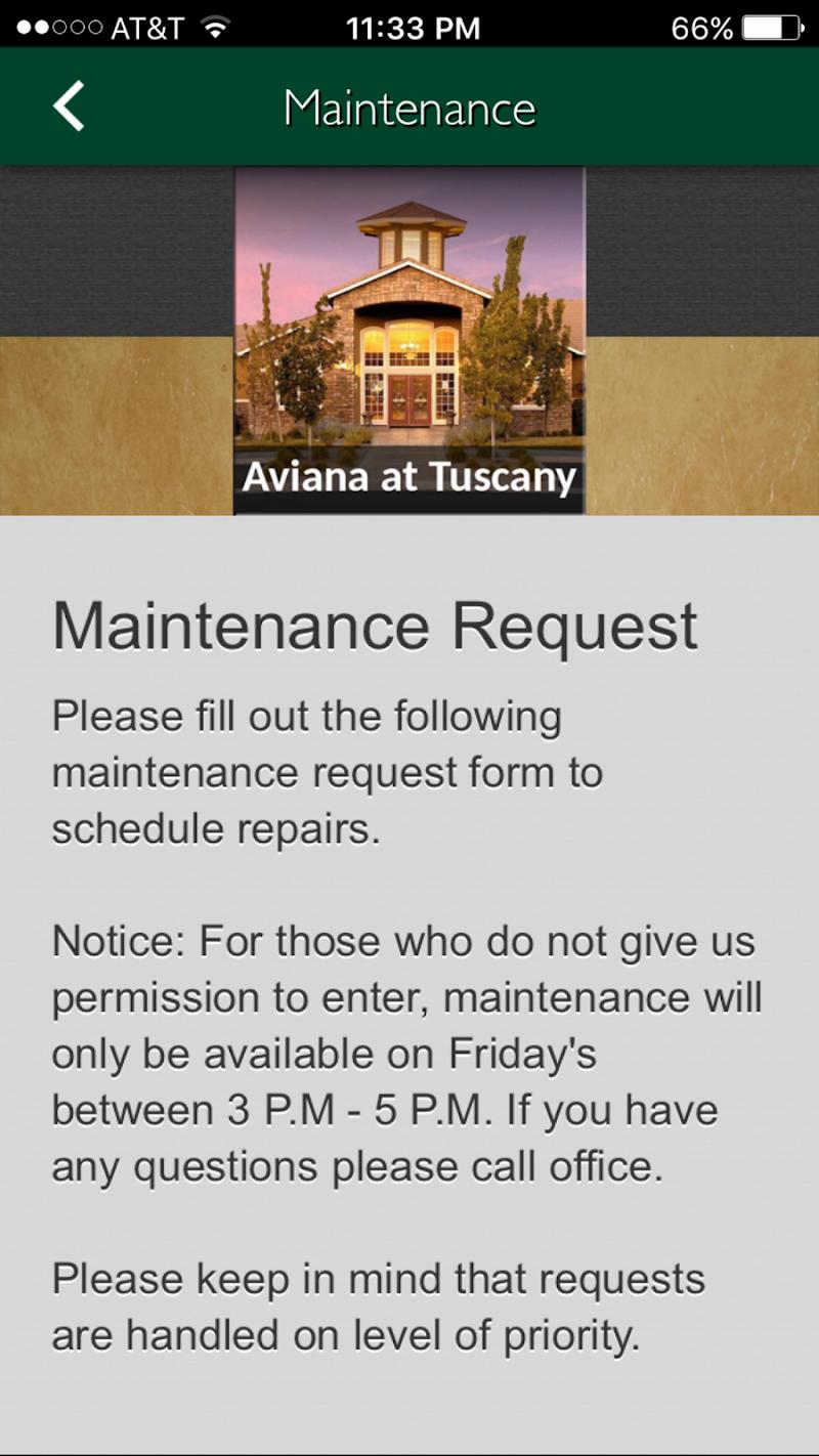 Скриншот Aviana at Tuscany