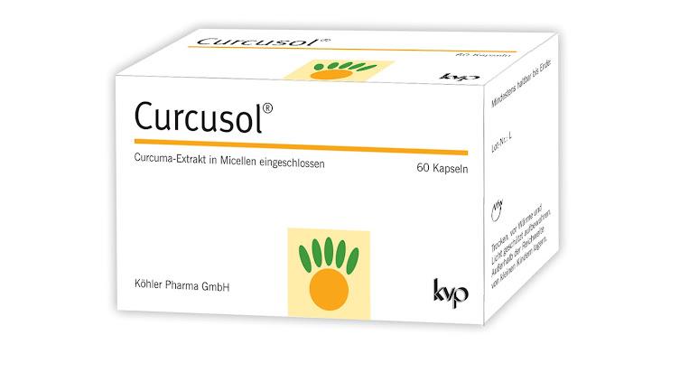 NEU von Köhler Pharma: Curcusol®