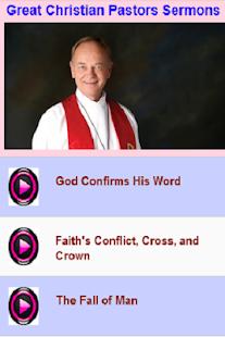 Great Christian Pastors Sermons - náhled